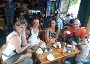 THE SAIGON MORNING AND AFTERNOON UNSEEN  TOUR BY MOTORBIKE